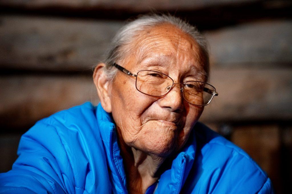 Indigenous elder