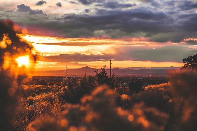 Southwestern scenery